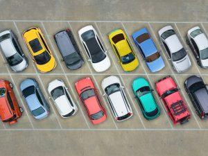 Parking na aerodromu 2021